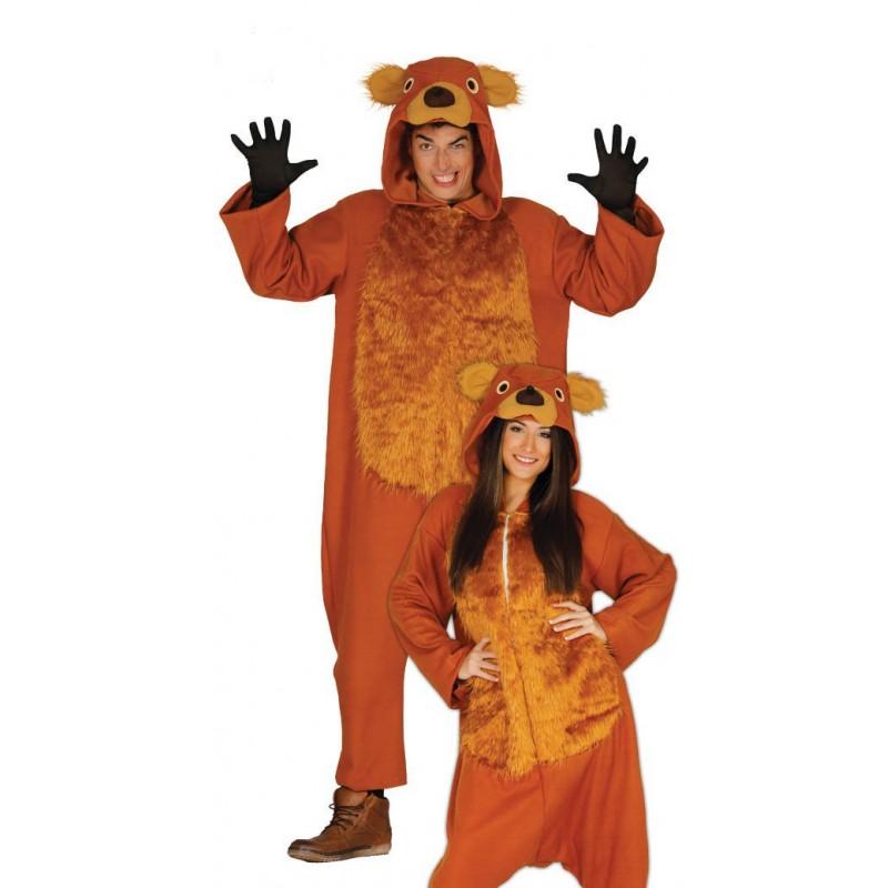 9088ec621e Comprar Disfraz de Oso Marron Pijama por solo 25.50€ – Tienda de ...