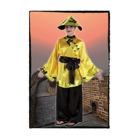 Disfraz de China Amarilla