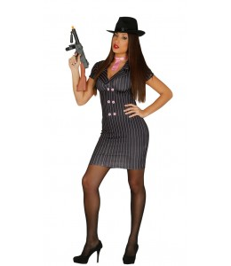Disfraz de Gangster Mujer