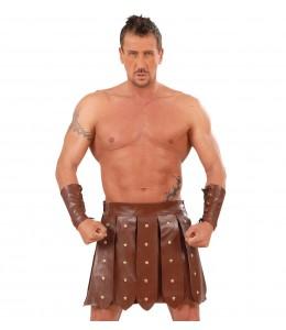 Falda y Brazaletes de Gladiador