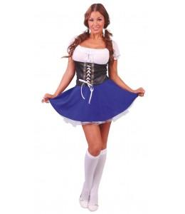 Disfraz de Tirolesa Azul