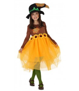 Disfraz de Espantapajaros Chica Infantil
