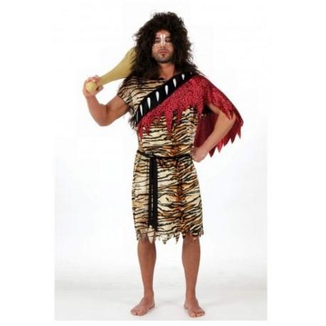 Disfraz de Cavernicola Rojo Hombre