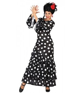 Costume Flamenco Black