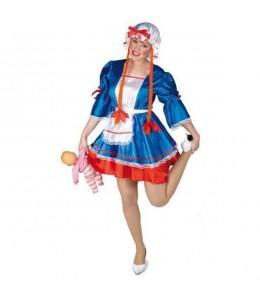 Disfraz de Muñeca de Trapo Mujer