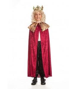 Capa Rey Rojo Infantil