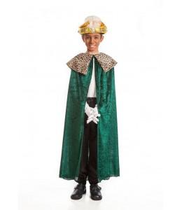 Capa Rey Verde Infantil