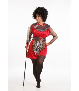 Disfraz de Massai Mujer