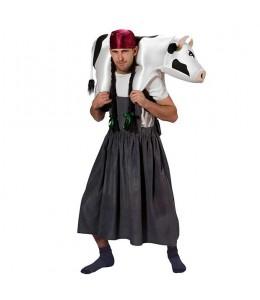 Disfraz de Granjera con Vaca