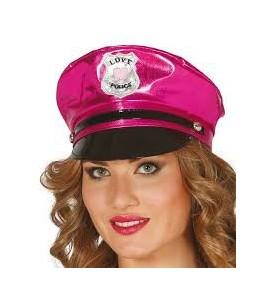 Gorra de Policia Rosa