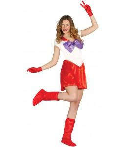 Disfraz de Sailor Rojo