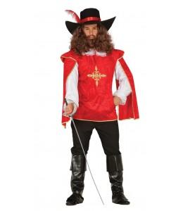 Disfraz de Mosquetero Rojo