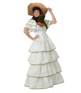 Disfraz de Dama Sureña Blanca