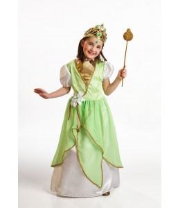 Disfraz de Princesa Verde Infantil