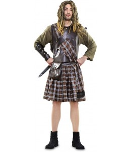 Disfraz de Guerrero escoces