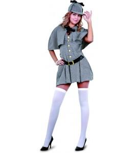 Disfraz de Detective Holmes Mujer