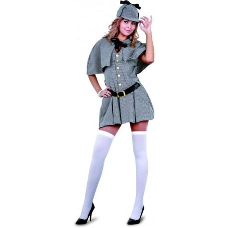 4105c3ac9 Comprar Disfraz de Sherlock Holmes Mujer por solo 19.50€ – Tienda de  disfraces online