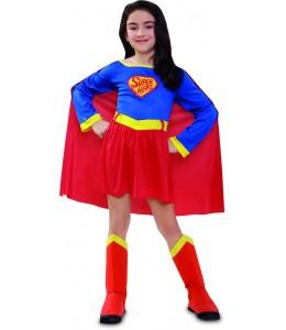 Disfraz de Super Heroina Infantil