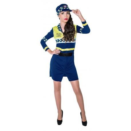 165e22a55 Comprar Disfraz de Policia Local Mujer por solo 28.50€ – Tienda de  disfraces online