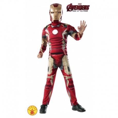Disfraz de Iron Man Deluxe AV2 Infantil