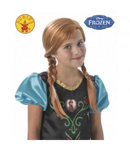 Peluca de Anna de Frozen