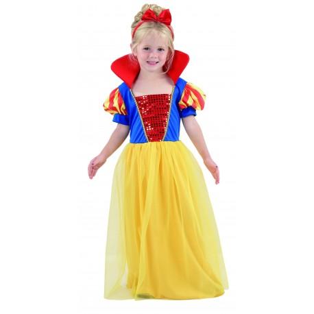 Disfraz de Princesa de las Nieves Bebe