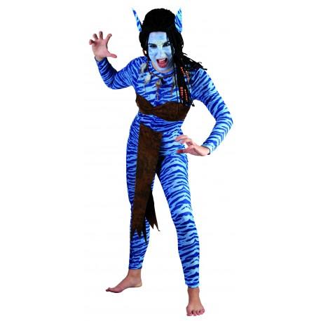Disfraz de Avatar Chica