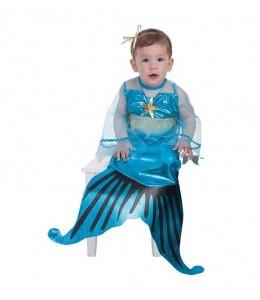 Disfraz de Sirenita Bebe