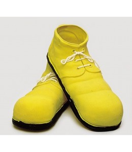 Zapatos de Payaso de Latex Amarillo