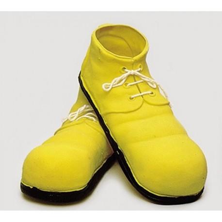 Zapatos de Payaso de Latex Amarillo
