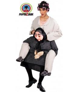 Disfraz de Abuela a Cuchus