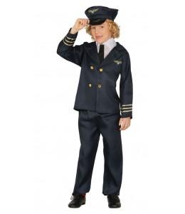 Disfraz de Piloto de Avion Infantil