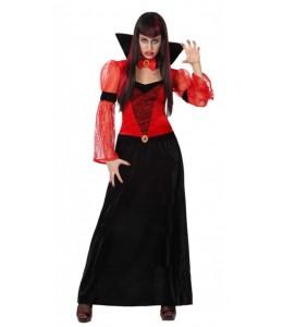 Disfraz de Vampiresa Gotica Roja