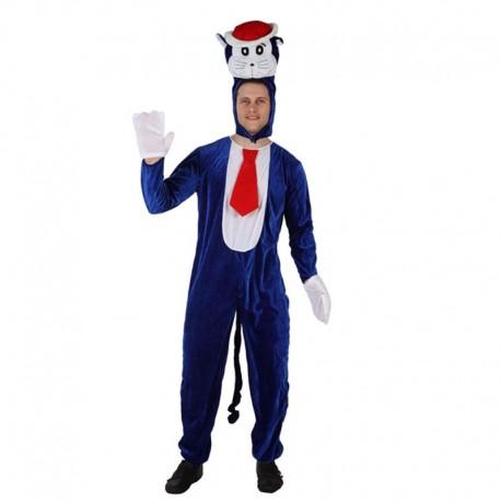 Disfraz de Gato Azul