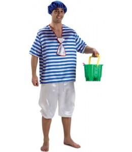 Disfraz de Bañista Chico Años 20