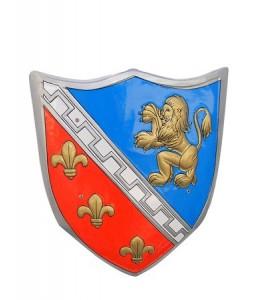 Escudo Rojo y Azul