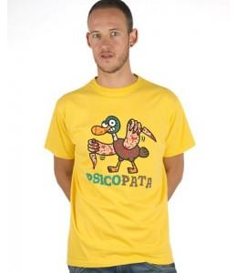 Camiseta kukuxumusu PsicoPata