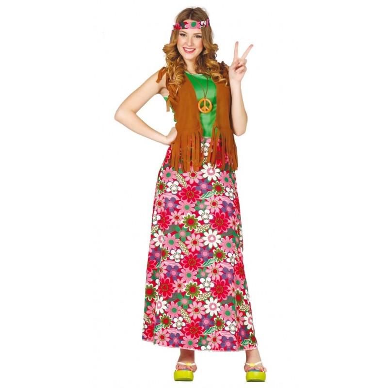 Comprar disfraz de happy hippie por solo tienda de disfraces online - Hippies anos 70 ...