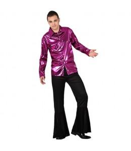 Disfraz de Disco Lila Hombre