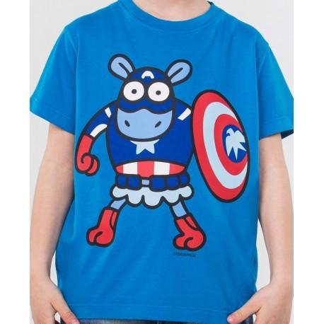 Camiseta kukuxumusu Capitan America
