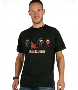 Camiseta kukuxumuxu  Poker Face