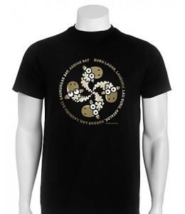 Camiseta kukuxumusu Lauardi