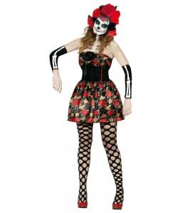 Disfraz de Catrina Flores