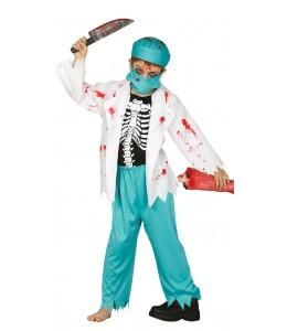 Disfraz de Medico Zombie Infantil