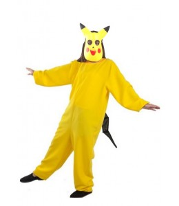 Disfraz de Pikachu con Mascara