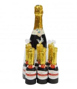 Botella Champan Confetti