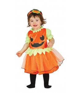 Disfraz de Calabaza Vestido Baby