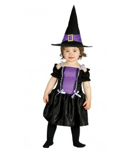 Costume little witch Purple Baby