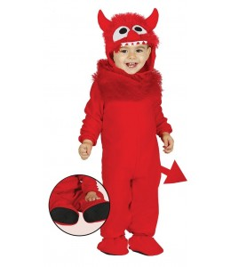 Disfraz de Monstruito Rojo
