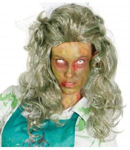 Peluca de Mujer Zombie